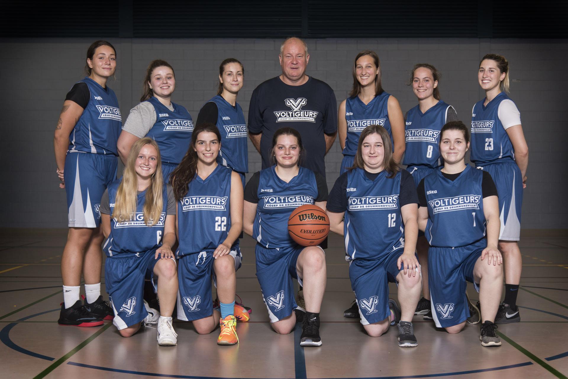 Basketball féminin - Photo équipe