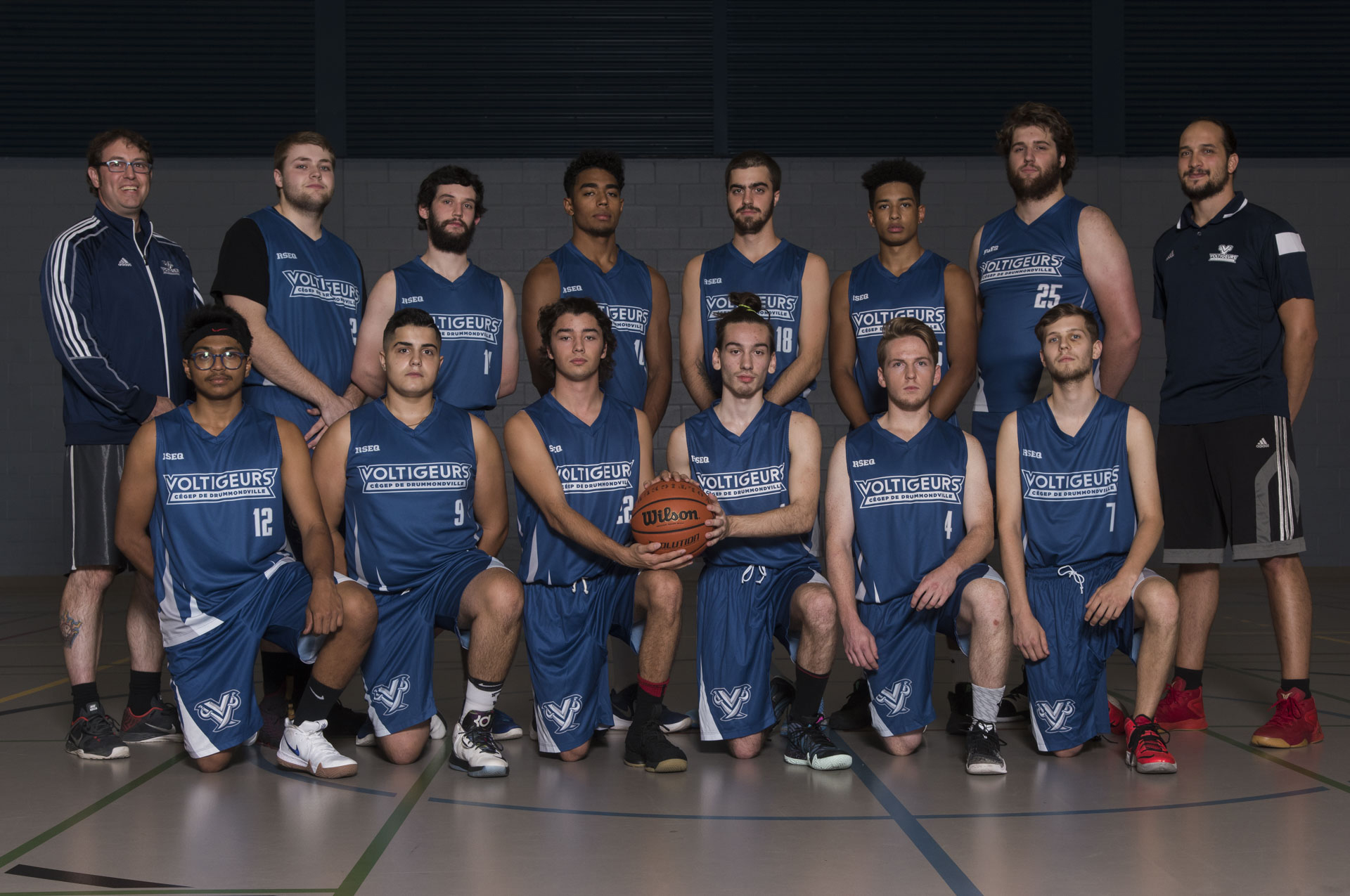 Basketball masculin - Photo équipe
